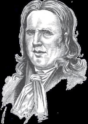 John Cleves Symmes - Sketch by Henry Howe