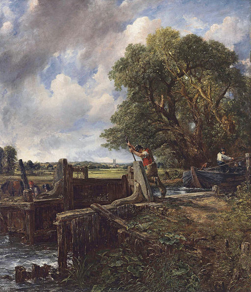 John Constable - The Lock