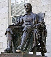 26 novembre 1607: John Harvard 220px-John_Harvard_statue