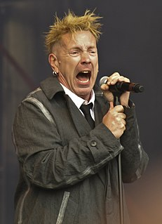 John Lydon English singer, songwriter, and musician