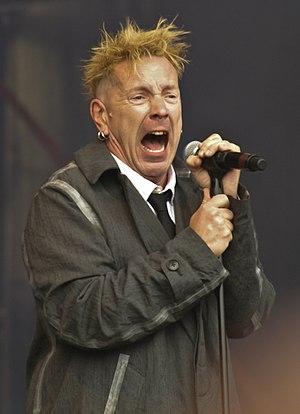 John Lydon - Lydon performing with Public Image Ltd in 2010