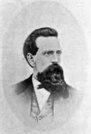 R. R. Thompson (sternwheeler) - Capt. John McNulty, who took R.R. Thompson through the Cascades of the Columbia
