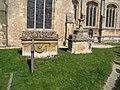 John Meade Falkner's tomb, Burford - geograph.org.uk - 553954.jpg
