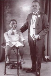 African-American ventriloquist