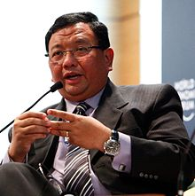 Jose Rene D. Almendras - World Economic Forum on East Asia 2010 crop.jpg