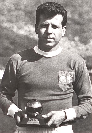 Josef Masopust - Masopust with the Ballon d'Or, 1962