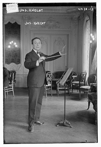 Waldorf–Astoria Orchestra - Joseph Knecht conductor of the orchestra in 1916