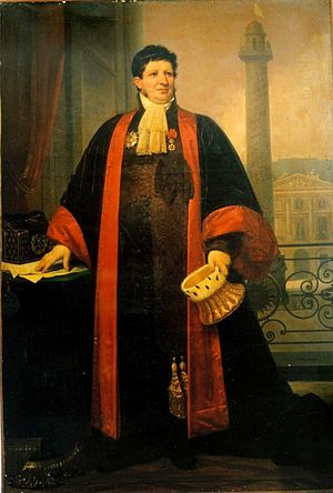 Joseph-Marie, comte Portalis - Joseph-Marie Portalis as vice-president of French Supreme Court (1820s)