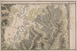 Șomcuta Mare - Șomcuta Mare on the Josephine Map of Transylvania