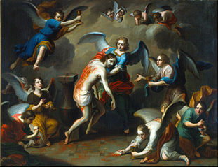 Christ Consoled by the Angels