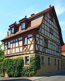 Jugenheim/Rheinhessen, ehemaliges Mühlenanwesen in der Hauptstraße 36