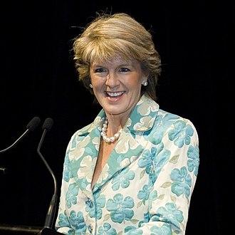 Julie Bishop - Bishop in 2007