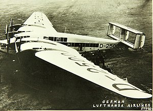 Junkers G.38 - Image: Junkers G 38