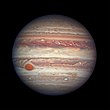 Jupiter's swirling colourful clouds.jpg