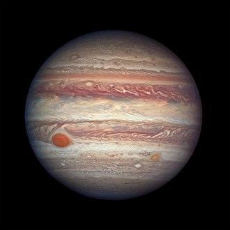 Atmosphere of Jupiter - Image: Jupiter's swirling colourful clouds