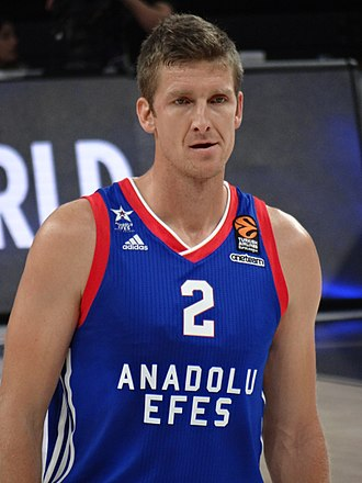 Justin Doellman - Doellman with Efes, in 2017.