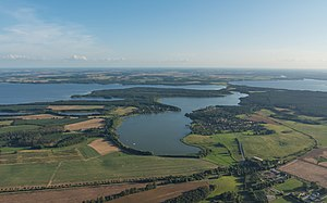 Lake - An area of lakes in Germany at Mecklenburg Lakeland