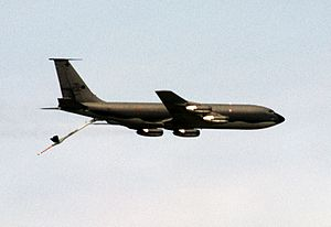 71st Air Refueling Squadron - KC-135A of the 71st Air Refueling Squadron during Exercise Proud Shield 92