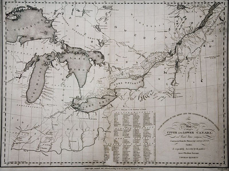 File:KENSETT MAP CANADA 1812.jpg
