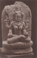 KITLV 87674 - Isidore van Kinsbergen - Hindu-Javanese sculpture coming from the Dijeng plateau - Before 1900.tif
