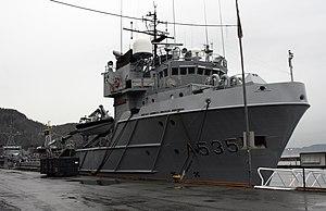 HNoMS Valkyrien (A535) - Valkyrien in Trondheim in 2009.