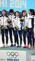 KOCIS Korea ShortTrack Ladies 3000m Gold Sochi 29 (12629496163).jpg