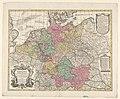 Kaart van Duitsland Germania secundum observationes Tychonis de Brahe, Kepleri (..) (titel op object), RP-P-2018-1067.jpg