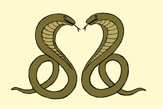 Nagavanshi - Kalahandi State coat of arms.