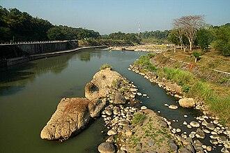 Progo River - Progo River in Yogyakarta