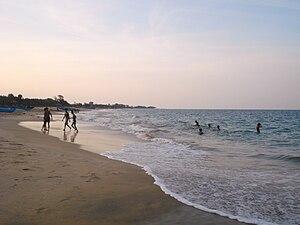 Kalladi (Batticaloa) - Image: Kalladi Beach 2