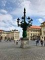 Kandelábr, Hradčanské Náměstí, Hradčany, Praha, Hlavní Město Praha, Česká Republika (48790771386).jpg