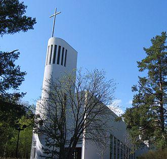 Kannonkoski - Image: Kannonkoski Lutheran Church