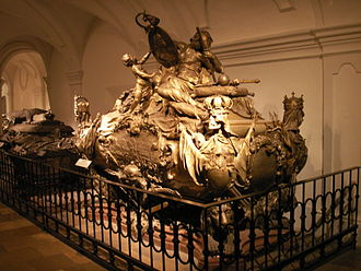 Charles VI, Holy Roman Emperor - Tomb of the emperor in the Imperial Crypt, Vienna