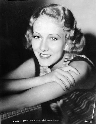 Karen Morley - publicity photo (1934)