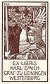 Karl Emich Leiningen Exlibris 3.jpg