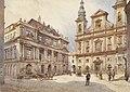 Karl Wenzel Zajicek Wien Jesuitenkirche und alte Universität.jpg