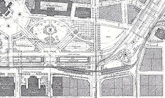 Karl Mayreder - Mayreder's designs for the Karlsplatz