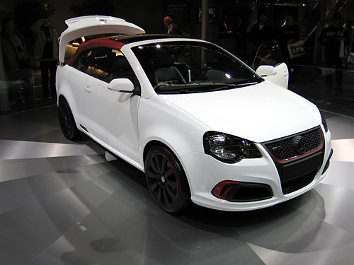VW Polo cabriolet