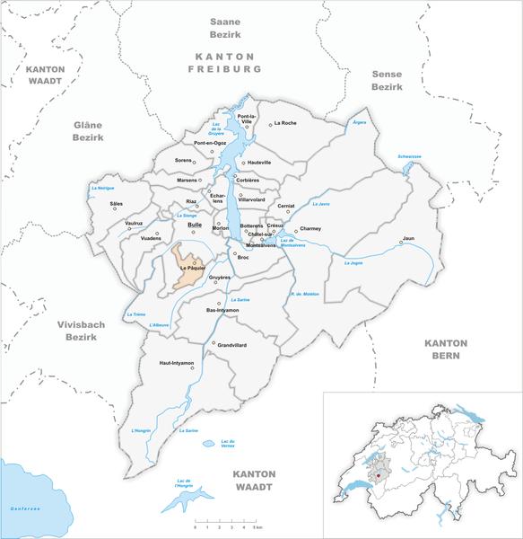 File:Karte Gemeinde Le Pâquier 2007.png