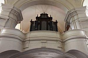 Kath Pfarrkirche hl Johannes der Täufer Sankt Johann im Saggautal Interior 12.jpg