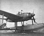 Kawanishi N1K1 at NAS Norfolk in 1949.jpg
