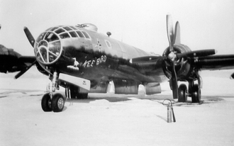 Kee Bird - Photo of the aircraft prior to its last mission, Ladd Army Airfield, Alaska Territory, 19 February 1947