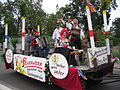 Kerwe in Alsenborn, Festwagen GVA.jpg