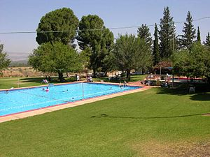 Kfar Szold - Image: Kfar Szold Swimming Pool