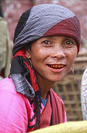 Khasi people - A Khasi woman