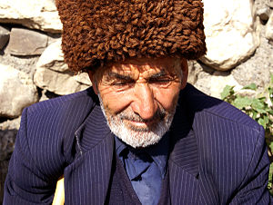 Aqsaqal - An aqsaqal from Khinalug