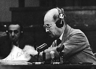 Kōichi Kido - Kido at the Tokyo Tribunal, 1947