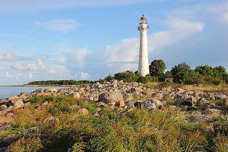 Kihnu - Image: Kihnu lighthouse 2