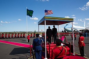 Tanzania People's Defence Force - TPDF honour guard