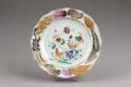 Kinesisk porslins tallrik från 1740-talet - Hallwylska museet - 95815.tif
